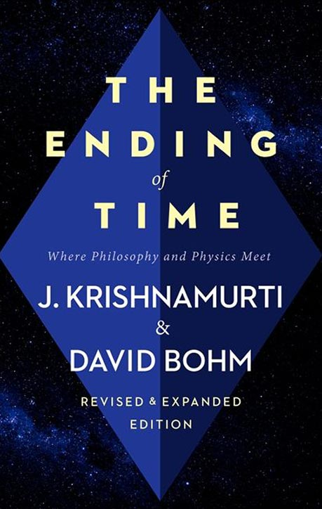 Front cover of J. Krishnamurti and David Bohm's book The Ending of Time