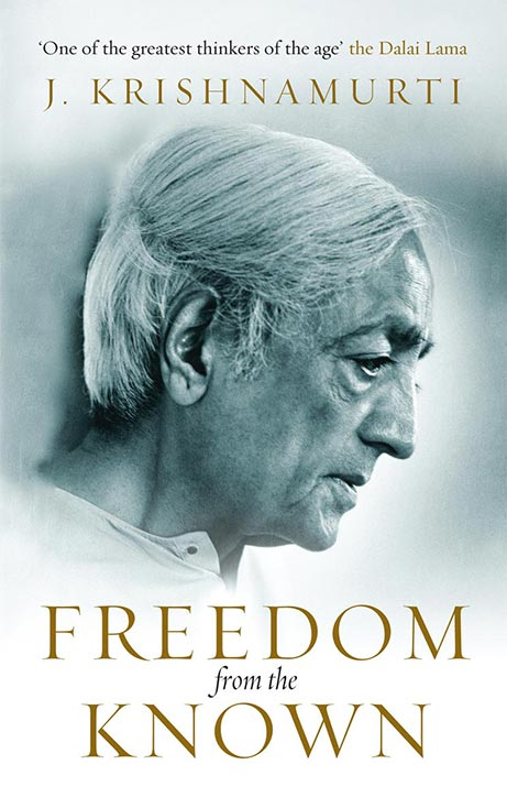 Front cover of J. Krishnamurti's book Freedom from the Known