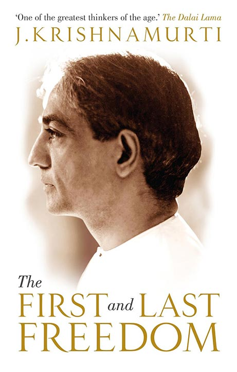 Front cover of J. Krishnamurti's book The First and Last Freedom