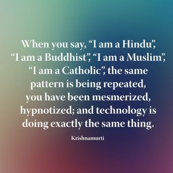 When you say I am a Hindu