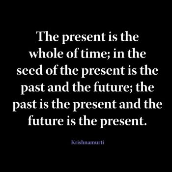 The present is the whole of time