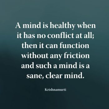 A mind that is controlled