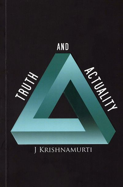 Front cover of Truth and actuality book by Krishnamurti